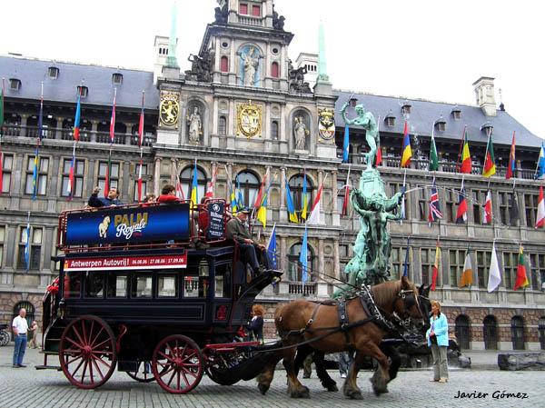 Plaza Markt de Amberes