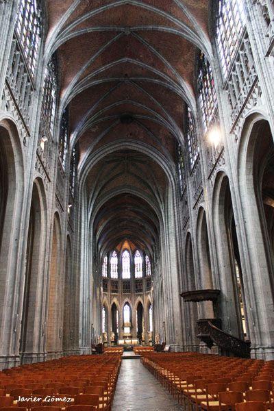 Colegiata de Saint Waudru de Mons - interior - 1