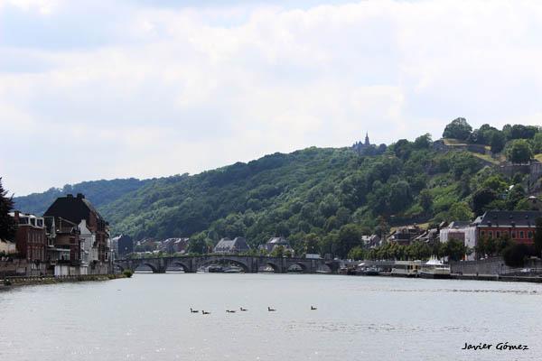 Calma en el Mosa en Namur
