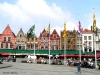 Plaza principal de Brujas