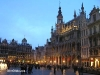 Grand Place de Bruselas de noche