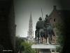 Estatua del Quijote y Sancho Panza
