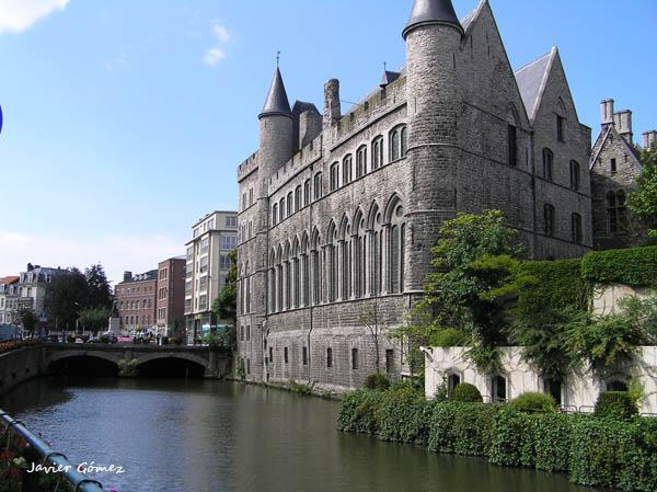 Historia de Gante, la ciudad portuaria de los condes