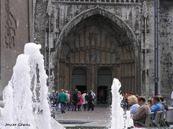 Pórtico de la catedral de Gante