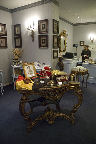 Interior de la Chocolateria