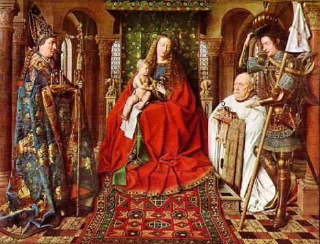 La Virgen del Canónigo Van der Paele