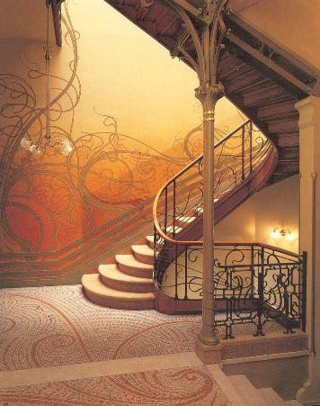 Fotos de la casa de Victor Horta en Bruselas