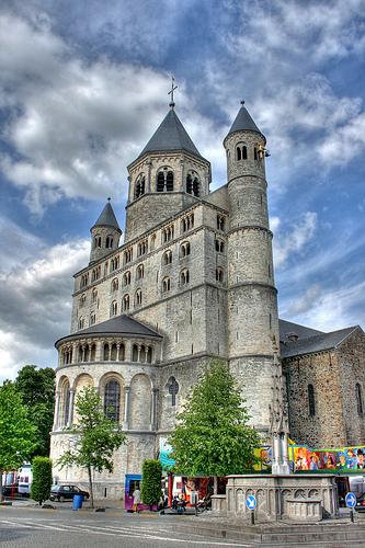La Colegiata de Santa Gertrudis en Nivelles