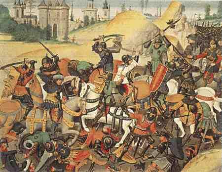 Toma de Jerusalén por Godofredo de Bouillon