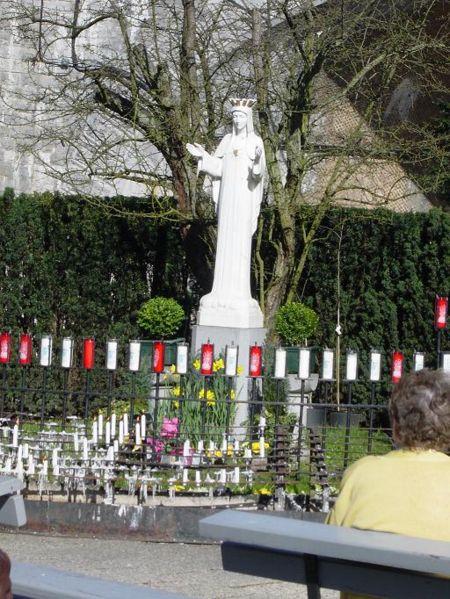 Beauraing, el Santuario de peregrinacion de Nuestra Señora