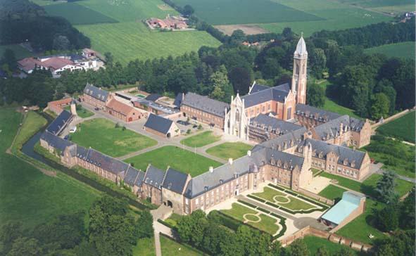 Vista de la Abadia de Tongerlo