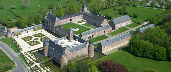 Tongeren, el Castillo Teutónico de Alden Biesen