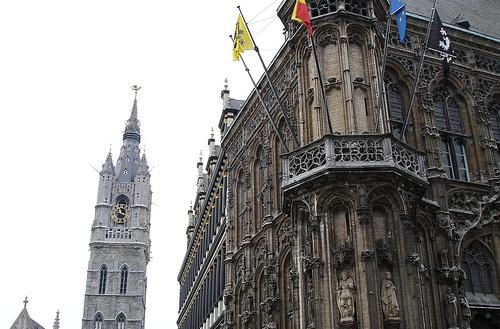 Gante y su ayuntamiento