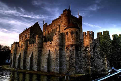 El Castillo de los Condes de Flandes en Gante