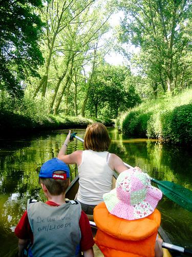A traves del rio Kleine Nete