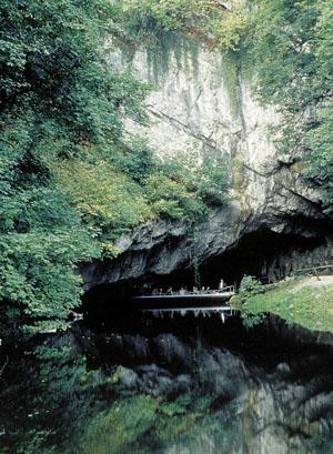 Salida de las cuevas