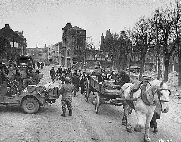 Bastogne, la Batalla de las Ardenas