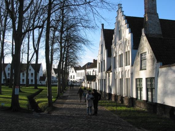 Los barrios de los Beguinajes en Bélgica