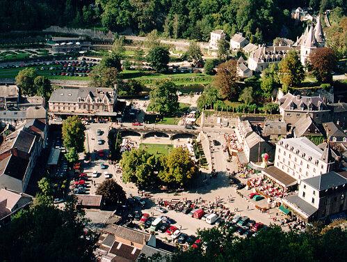 Vista de Durbuy Saint Pierre