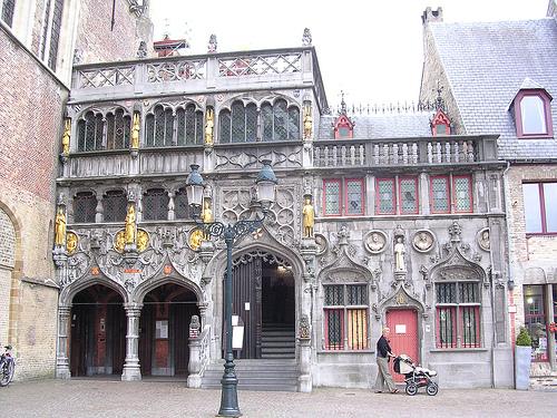 La Basilica de la Santa Sangre en Brujas