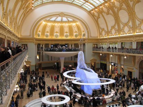 El centro comercial de la Stadsfeestzaal en Amberes