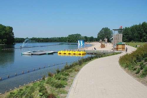 El parque Blaarmeersen, un día al aire libre