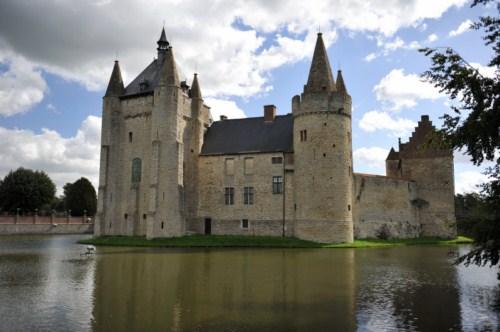 El Castillo de Laarne en Gante