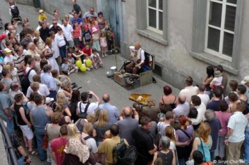 Festival de las artes foráneas en Namur