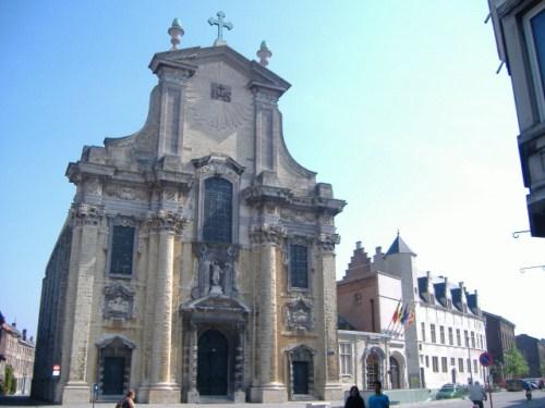 La Iglesia de San Pedro y San Pablo en Malinas