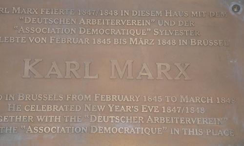 Bruselas, cuna del Manifiesto comunista