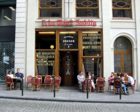 Cervecería A La Mort Subité en Bruselas