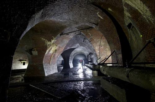 Los túneles ocultos de Amberes