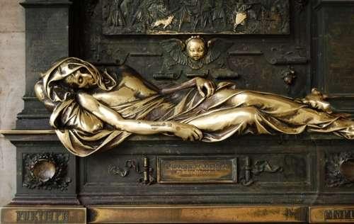 La estatua de Everard't Serclaes, en Bruselas