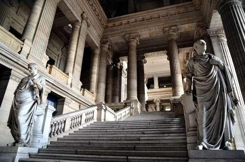 El imponente Palacio de Justicia, en Bruselas