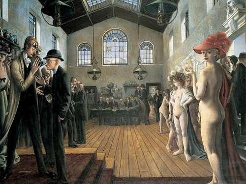 Paul Delvaux, ícono del arte belga