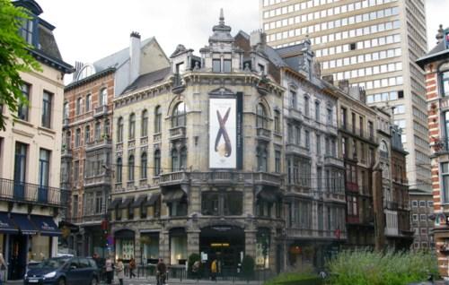 Tiendas de chocolate belga en el Sablón, Bruselas