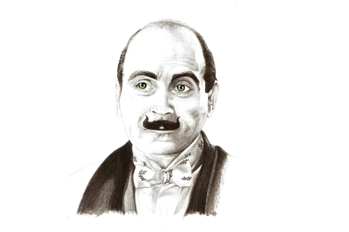 Hércules Poirot, famoso Honoris Causa de Bélgica