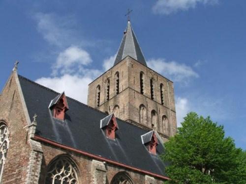 La Iglesia de Saint Gillis en Brujas