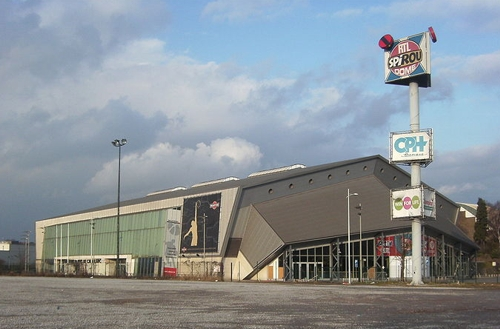 El Spiroudome, meca del baloncesto en Charleroi
