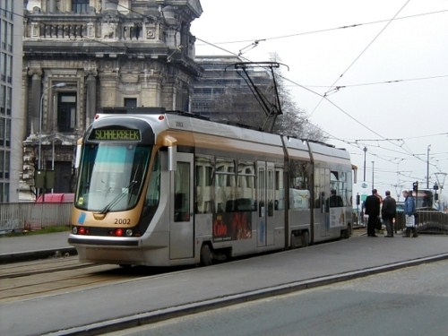 Tranvía en Bruselas