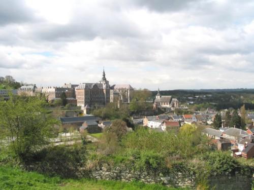 Abadía de Floreffe, cerveza belga cerca de Namur