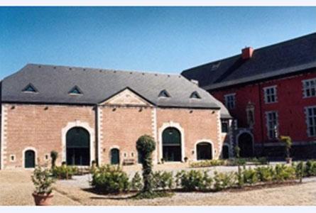 La Abadía de la Paz de Dios en Amay, la Valonia
