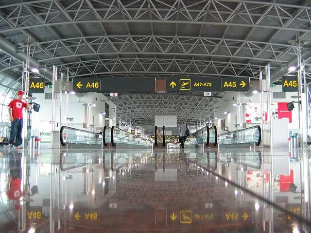 Terminal del aeropuerto de Charleroi
