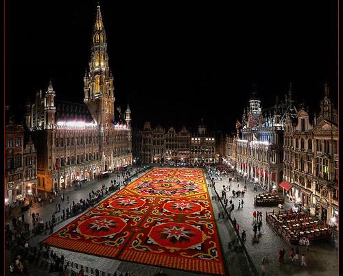 La Alfombra de Flores 2010 en Bruselas