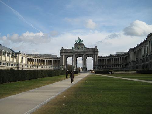 El Arco del Triunfo en Bruselas