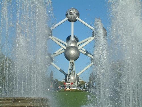 Atomium, símbolo de Bélgica y Bruselas