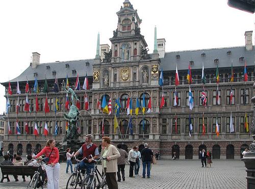 El Ayuntamiento de Amberes