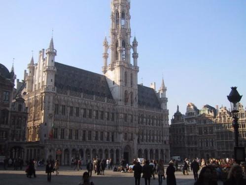 Visita el Ayuntamiento de Bruselas