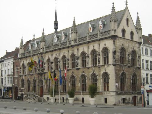 El Ayuntamiento de Kortrijk