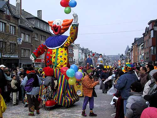 Carnavales en Bélgica 2009